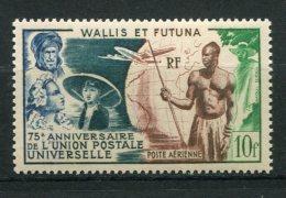 7806  WALLIS ET FUTUNA    PA 11 **  75é Anniversaire De L'Union Postale Universelle ( U.P.U )  1949    TB - Nuovi