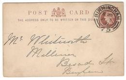 5108 - Entier Avec Repiquage - 1840-1901 (Victoria)