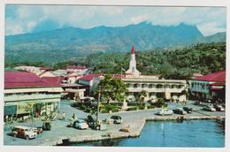 A GLIPSE OF PAPEETE (Tahiti). Nueva, No Circulada (década De 1960) - Polinesia Francesa