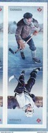 CANADA, 2017, MNH, JOINT ISSUE WITH THE USA, HOCKEY,2v Ex. S/A BOOKLET - Joint Issues