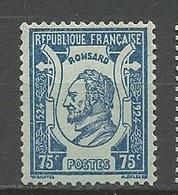 PIERRE DE RONSARD N° 209  GOM D'origine NEUF** LUXE SANS CHARNIERE / MNH - France