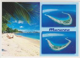 ATOLL DE MURUROA, Islas Tuamotu / Îles Tuamotu. Tarjeta Postal Moderna / Carte Postale Moderne - Polinesia Francesa