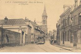 59 // LAMBERSART    Rue Du Bourg Et L'église   LP 1 - Lambersart
