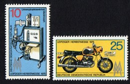 East Germany/DDR.  1975 Leipzig Autumn Fair. SG E1791-1792. MNH - [6] Repubblica Democratica