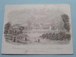 BUCKINGHAM PALACE  The RESIDENCE Of QUEEN VICTORIA By J.T.WOOD ( Porcelein / Porcelaine / Pocelain - Details See Photo ) - Non Classés