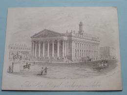 The NEW ROYAL EXCHANGE LONDON By J.T.WOOD ( Porcelein / Porcelaine / Porcelain - Details See Photo ) - Vieux Papiers