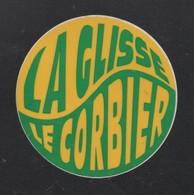LA GLISSE LE CORBIER - AUTOCOLLANT REF: 076 - Stickers