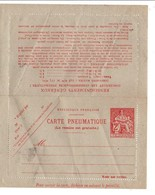 PNEUMATIQUE CHAPLAIN 2 FRS NEUF - Enteros Postales