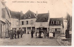 """SAINT GERAND LE PUY """"Place Du Marché"""" - France"""