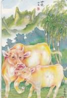 POLYNESIE FRANCAISE...30 UNITES....1997..ANNEE DU BUFFLE... - French Polynesia