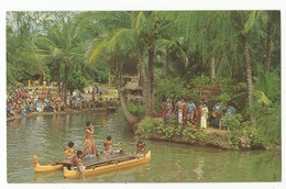 CPSM, Fidji , N° C31292,The Pageant Of Long Canoes At The  Polynesian Cultural Center ...Ed. R.C. - Fidji