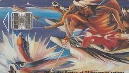 """POLYNESIE FRANCAISE...150 UNITES....""""LA PECHE AUX CAILLOUX"""". - French Polynesia"""