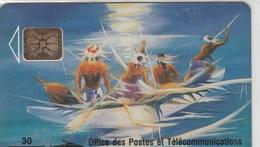 """POLYNESIE FRANCAISE...30 UNITES....""""POLYNESIE,SOLEIL LEVANT"""". - French Polynesia"""