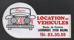 REGINE LOCATION 31130 BALMA  - AUTOCOLLANT REF: 081 - Stickers