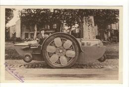 Carte Postale Ancienne Parthenay - Automobile Amphibie, Tous Terrains Et Eau. U. Texier De La Caillerie (Secondigny) - Parthenay