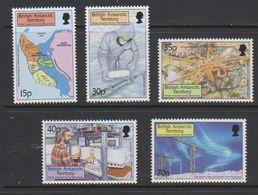 British Antarctic Territory 1999 Survey Discoveries 5v   ** Mnh (39630) - Nuevos