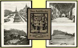 1925 Scotland, Dear Auld Reekie Homeland Association Illustrated Album, Edinburgh Pictures - Old Books