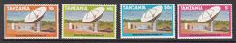 1979 Tanzania Telecommunications Satellite  Complete Set Of 4 MNH Sg274 - Tanzania (1964-...)