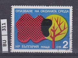 BULGARIA  1976protazione Dell'ambiente 2 St Usato - Gebraucht
