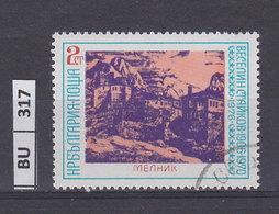 BULGARIA  1976anniversario UNESCO 2 St Usato - Gebraucht