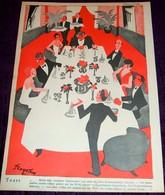 1929 Lustige Blätter - Lot Of 8 Original Lithograph Prints, Comics Art Deco - Books, Magazines, Comics