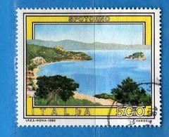 Italia °- Anno 1989 - TURISTICA- SPOTORNO . USATO. Unif. 1889.  Vedi Descrizione - 6. 1946-.. Republik