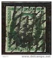 N° 2b VERT FONCE SIGNE CALVES - 1849-1850 Ceres