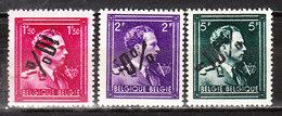724N/P**  Leopold III Col Ouvert Surchargé -10% - ROEULX (LE) - Série Complète - MNH** - LOOK!!!! - 1946 -10%