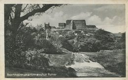 004687  Bornholm - Hammershus Ruiner - Dänemark