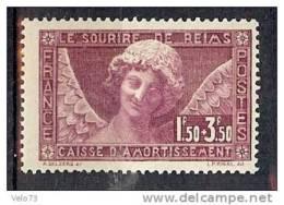 N° 256 SOURIRE DE REIMS  * - Neufs