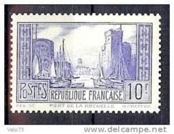 N° 261b LA ROCHELLE OUTREMER PALE * - France