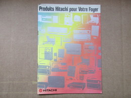 """Produits Hitachi Pour Votre Foyer 'Catalogue"""" - Old Paper"""