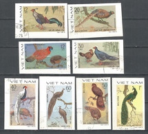 Vietnam 1979  Used Stamps  Imperf.  Birds - Vietnam