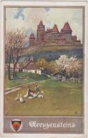 AK - NÖ - Burg Kreuzenstein - Dt. Schulverein - Korneuburg