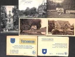 Tervueren Tervuren - Lot De 5 Cartes Sélectionnées + 2 Carnets (voir Scans) - Tervuren