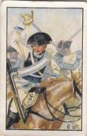 Deutsche Uniformen Friedrichs Le Grand -  N° 80 - Cartes De Cigarettes Allemandes STURM De 1932 - Sturm