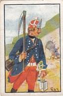 Deutsche Uniformen Friedrichs Le Grand -  N° 119 - Cartes De Cigarettes Allemandes STURM De 1932 - Sturm