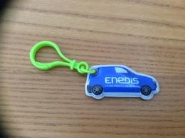 """Porte-clefs Lumineux """"Enedis"""" (Erdf, EDF) Type 2 (e Blanc) - Key-rings"""