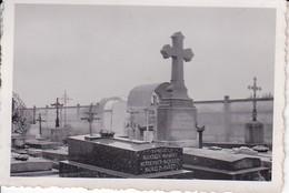 Foto Frankreich - Friedhof - Ca. 1940 - 7,5*5,5cm (35780) - Places