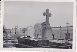 Foto Frankreich - Friedhof - Ca. 1940 - 7,5*5,5cm (35780) - Orte