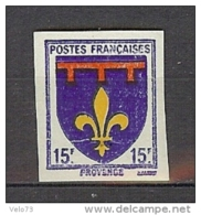 N° 574 PROVENCE NON DENTELE  ** - France