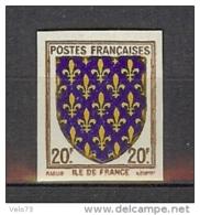 N° 575 ILE DE FRANCE NON DENTELE  ** - France