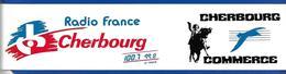 A.C RADIO CHERBOURG 100.7 99.8 La Hague - Stickers