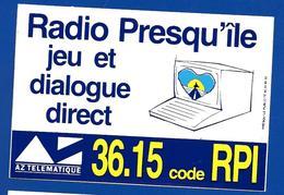 A.C RADIO PREQU'ILE JEU Et DIALOGUE DIRECT - Stickers