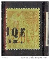 MARTINIQUE N° 2a SURCHARGE TYPE II TTB * - Martinique (1886-1947)