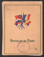 """Carnet De Cartes-lettres """"NOUVELLES DU FRONT""""  (PPP9024) - Documents"""