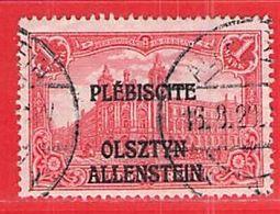 MiNr.10 O Deutschland Deutsche Abstimmungsgebiete Allenstein - Coordination Sectors