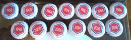 Lot De Capsule De Bières Kronenbourg Rouge Complet - Beer
