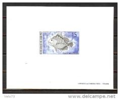 DAHOMEY N° 330 POISSON EN EPREUVE DE LUXE - Bénin – Dahomey (1960-...)