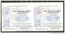 FM N° 14 X 2 NOIR 5 LIGNES OBLITERES 13EME BCA - Franchise Stamps
